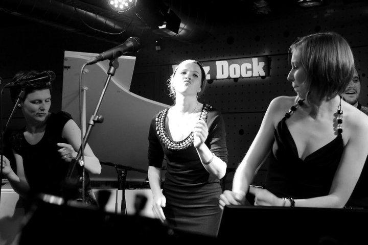 with my friends, Markéta Foukalová & Tereza Rajnincová
