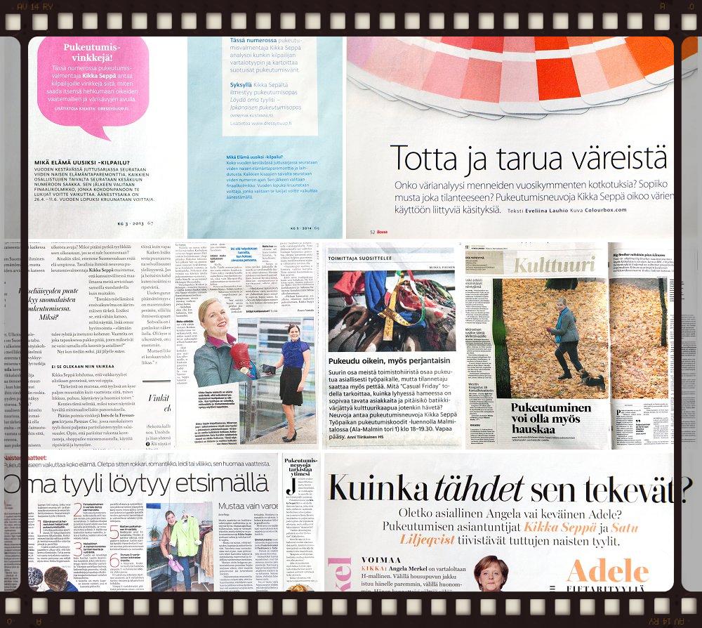 Kikka Seppä mediassa