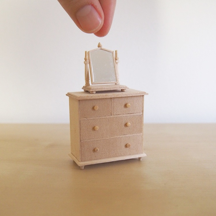 How Its Made A Little Chest Of Drawers Dressing Mirror