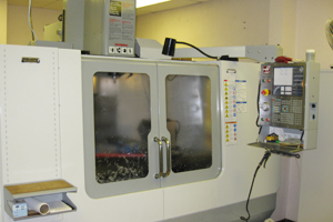 The Haas CNC Mill