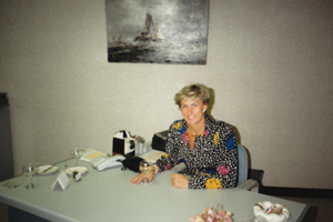 Louise. M. Kamp-Van der Linden, Founder, Financial Director and an inspiration.