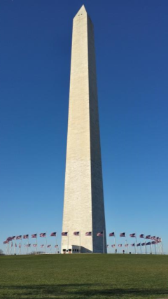 The Washington Monument in all of its magnificence
