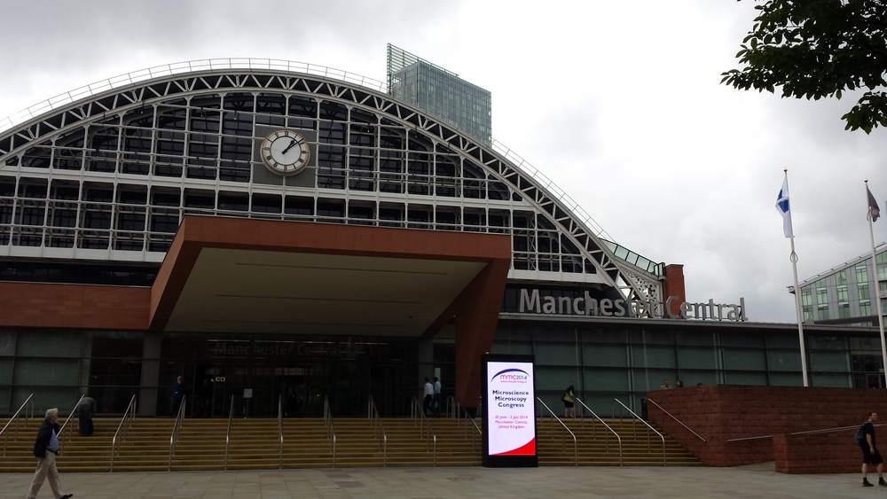 The ultra modern Manchester Central Convention Centre played host to MMC2014