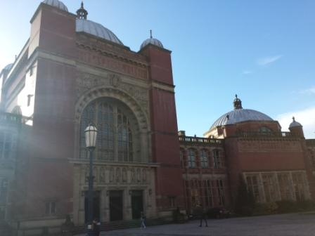 Just some of the grand architecture at the beautiful Birmingham university campus