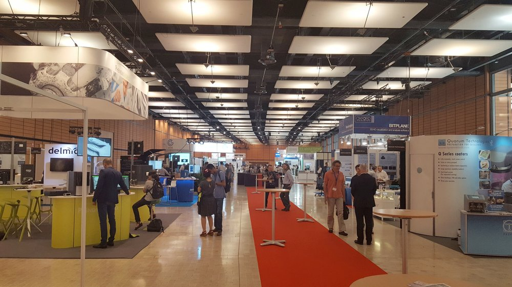 EMC 2016 hosted over 80 exhibitor stands and had over 2,500 visitors.
