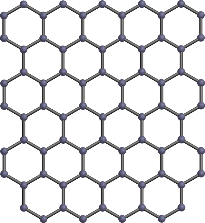 Due to its unique properties Graphene (an allotrope of carbon) has incredible potential for application in many different fields.