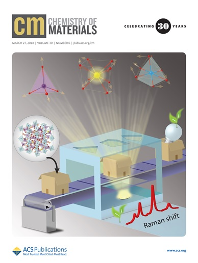 The cover of the journal, Chemistry of Materials, highlights a unique phonon projection technique implemented on the yellow emitting phosphor, Y3−xCexAl5O12 (the phosphor applied in most commercial phosphor-converted white LEDs), which provides novel insights into local vibrational dynamics of the crystal and its effects on luminescence properties of the material.