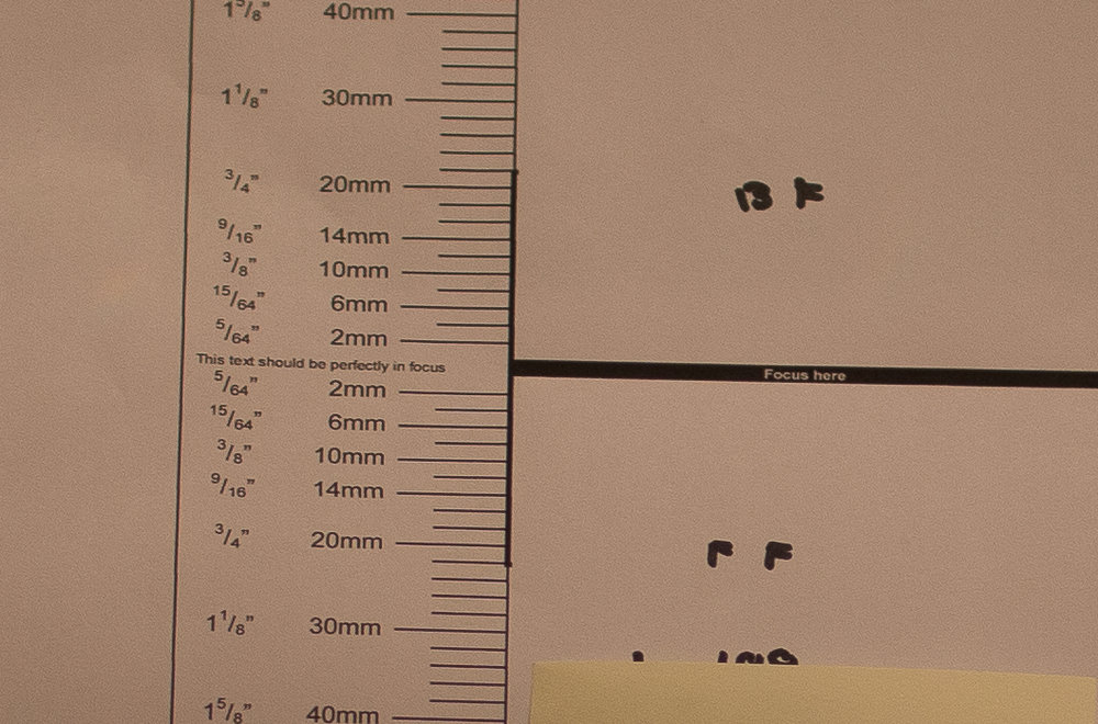 After calibration (50mm)