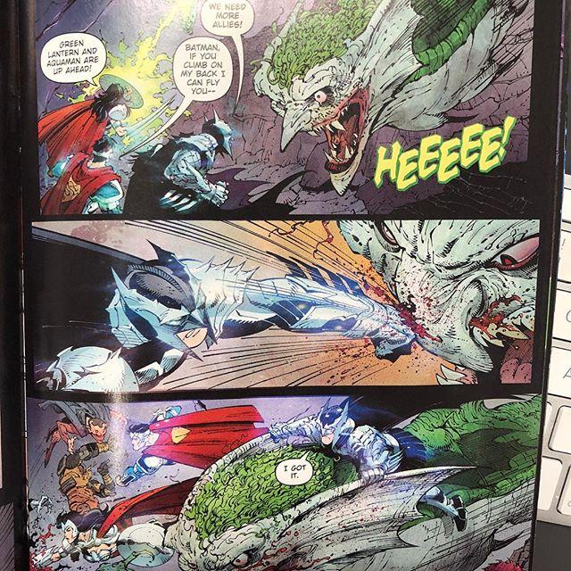 Batman just doin' Batman.