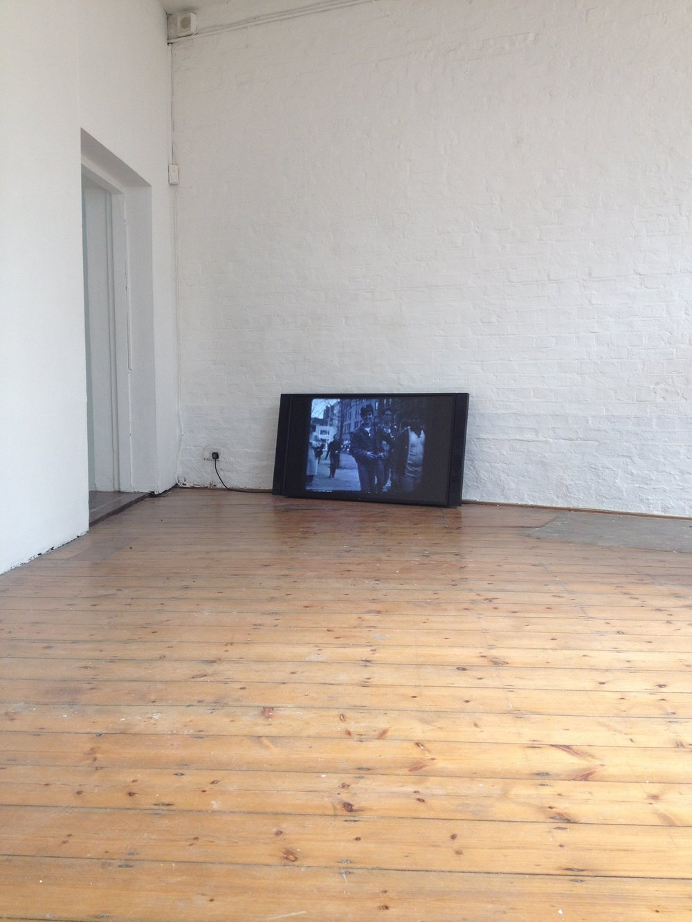 I've never told this to anybody before/ Finding Nick Ayer. Installation view of JUICE at ACME project space (2015)