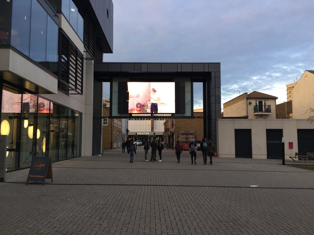 Big Screen Southend, Focal Point Gallery