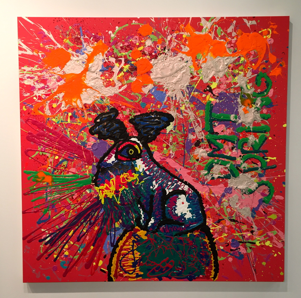 Untitled (DMT Spring) - Bjarne Melgaard