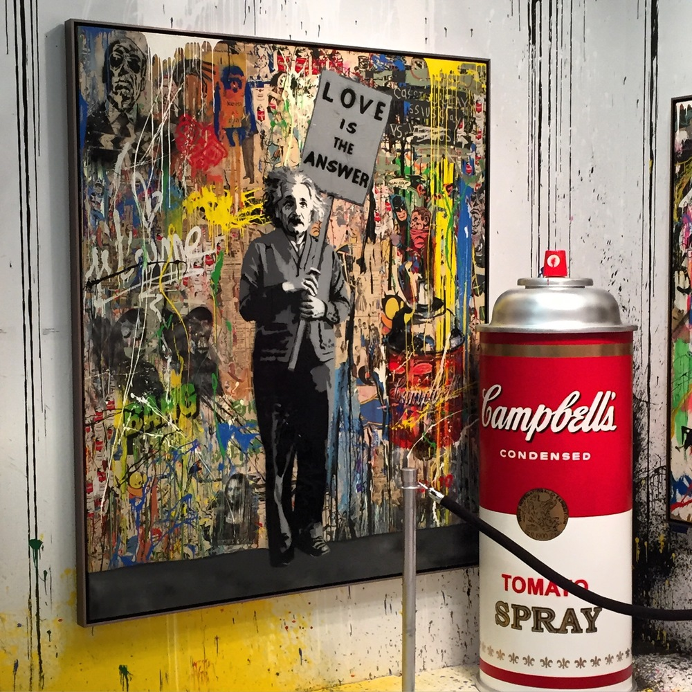 Mr. Brainwash Gallery: Contessa Gallery