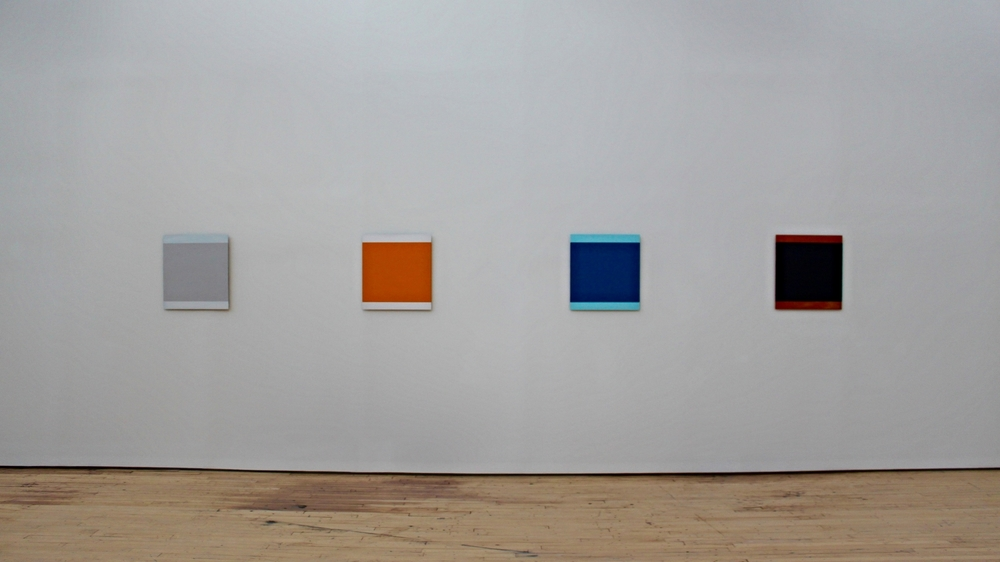 Part of the  Times of the Day I–VI   (1974–76) series by artist Blinky Palermo.