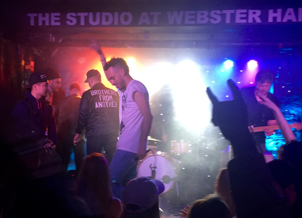 SOL closing off the night down at The Studio in New York City's Webster Hall.
