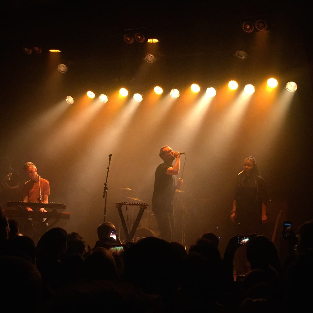 HONNE performing 10.05.2016 @ Warsaw in Brooklyn, NY.