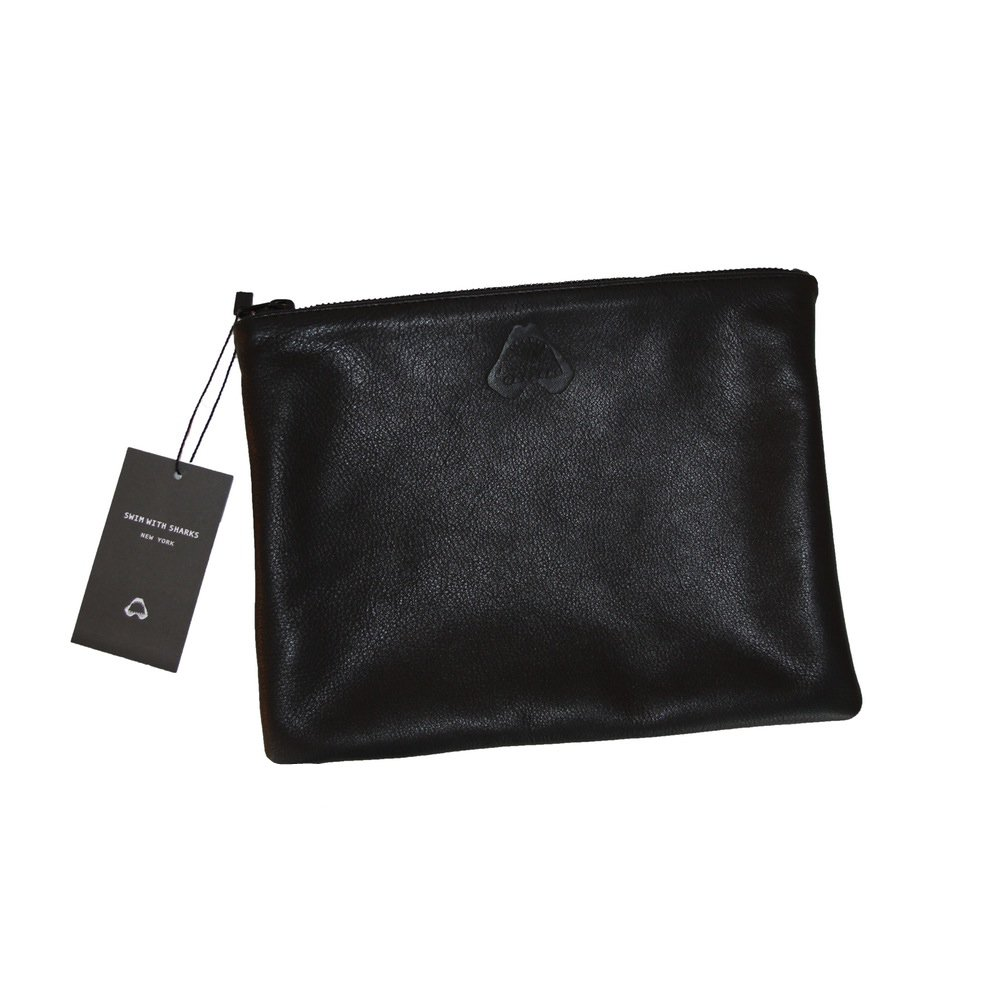 Jaws Leather Pouch - $70.00