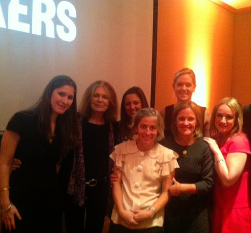 MAKERS team with Gloria Steinem