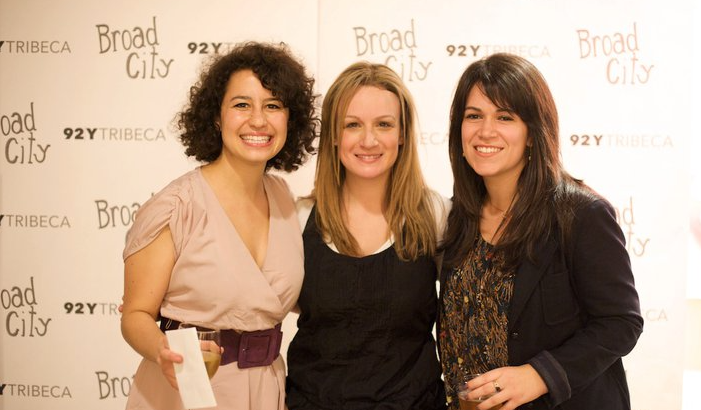 Broad City web premiere with Ilana Glazer and Abby Jacobson