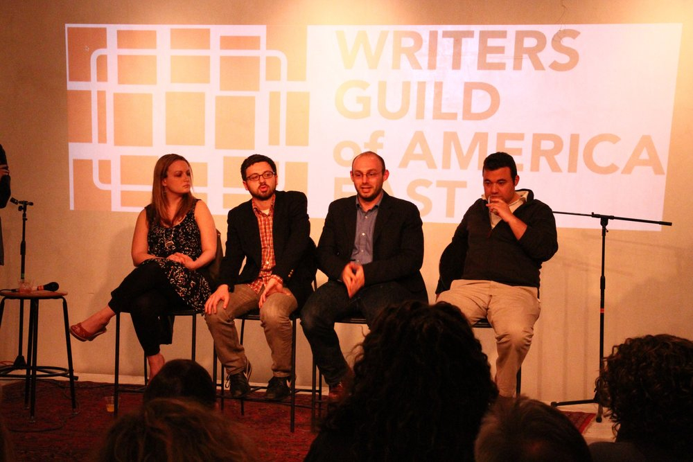 WGAE Digital Storytelling Panel