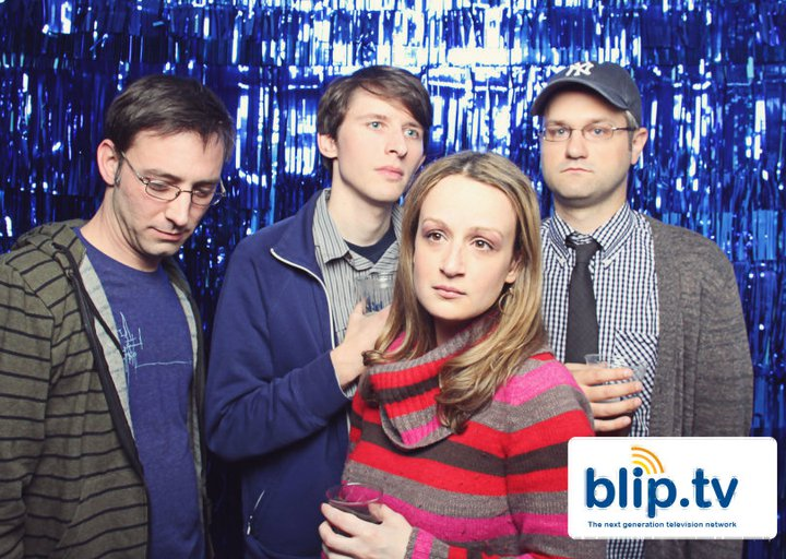 web series originals at Blip TV party
