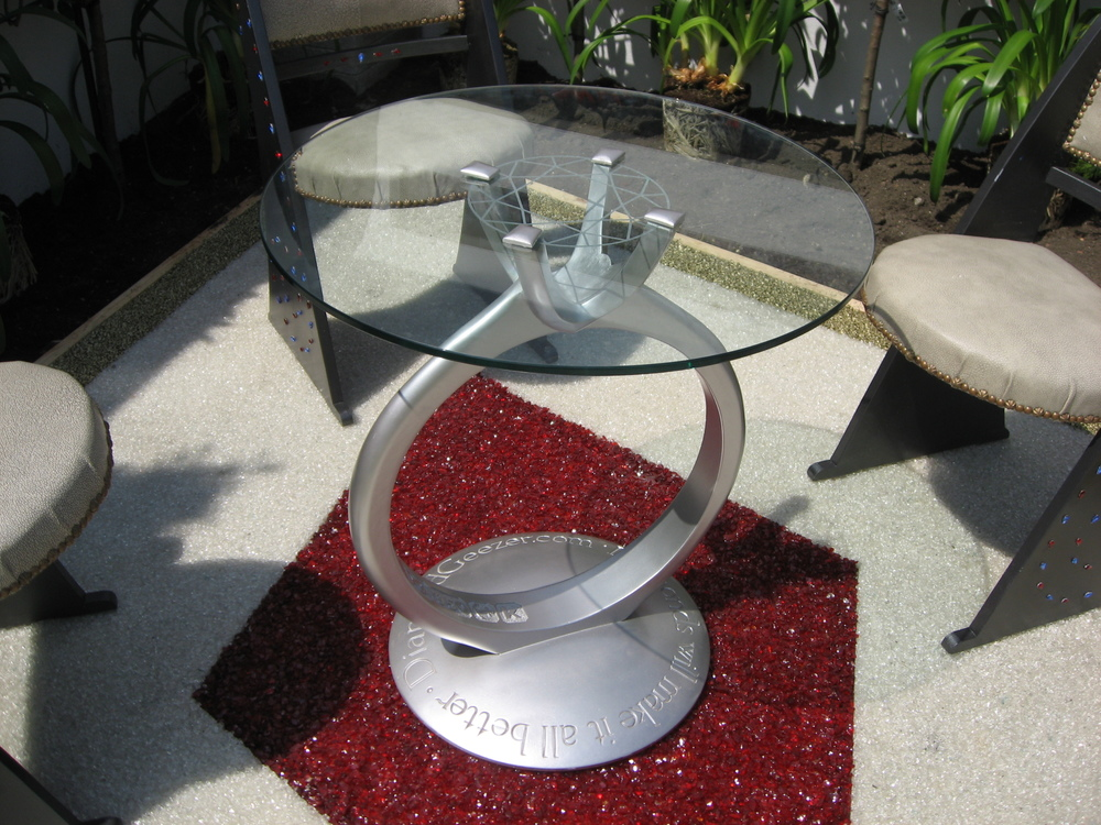 4 Diamond Ring table chelsea flower show.JPG