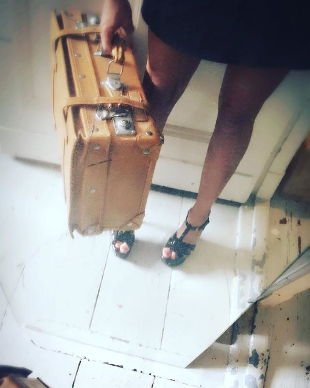 A suitcase full of fun. #companion #courtesan #professionalgirlfriend #curator of #pleasure