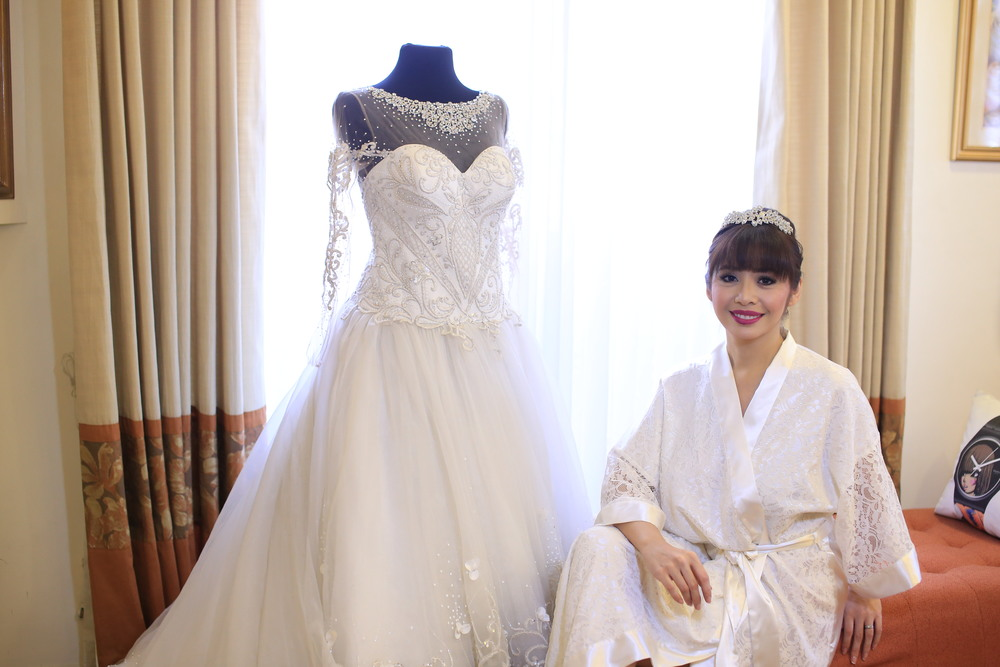 Bridal Gown and Entourage — Happy Andrada
