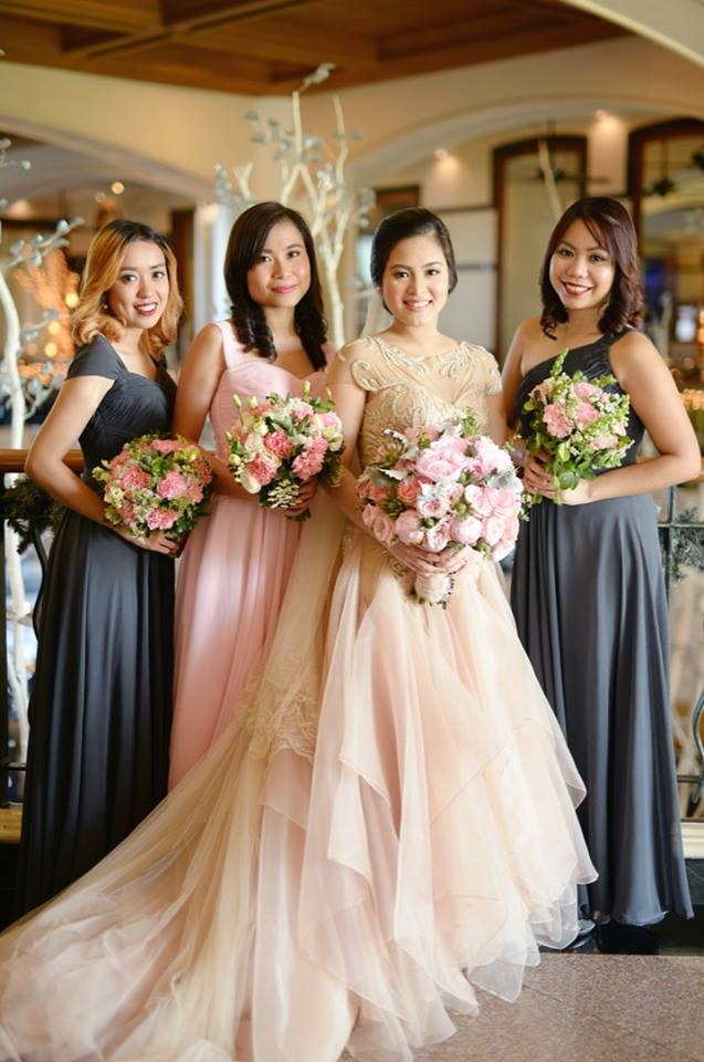 Bridal Gown and Entourage for Ritz — Happy Andrada