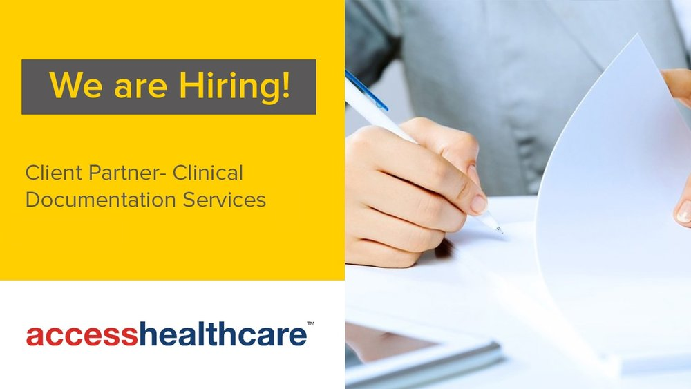Client+Partner+Clinical+Documentation+Services+Jobs+Chennai