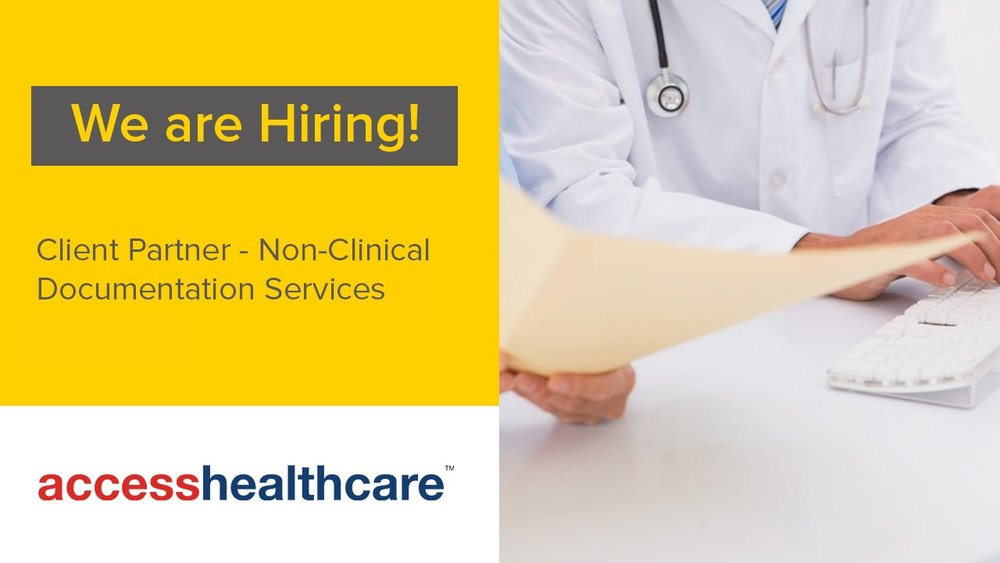 Client+Partner+Non-Clinical+Documentation+Jobs+Chennai