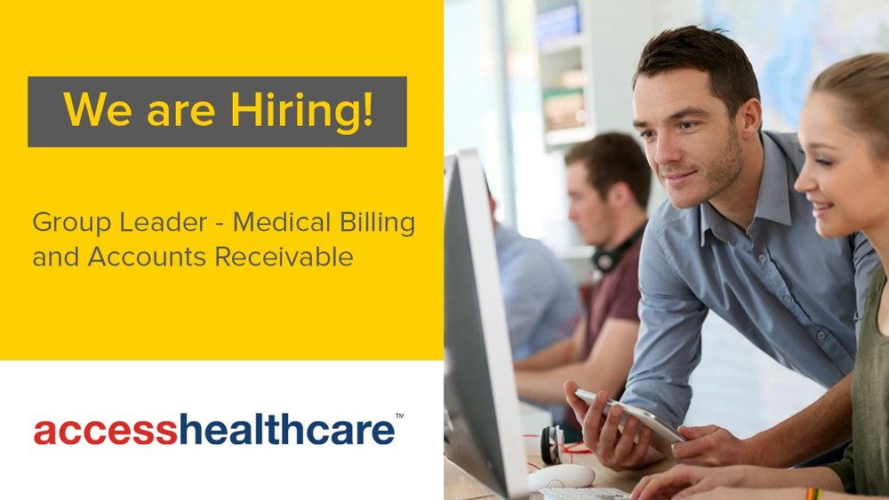Group+Leader+Medical+Billing+Accounts+Receivable+Chennai+Jobs