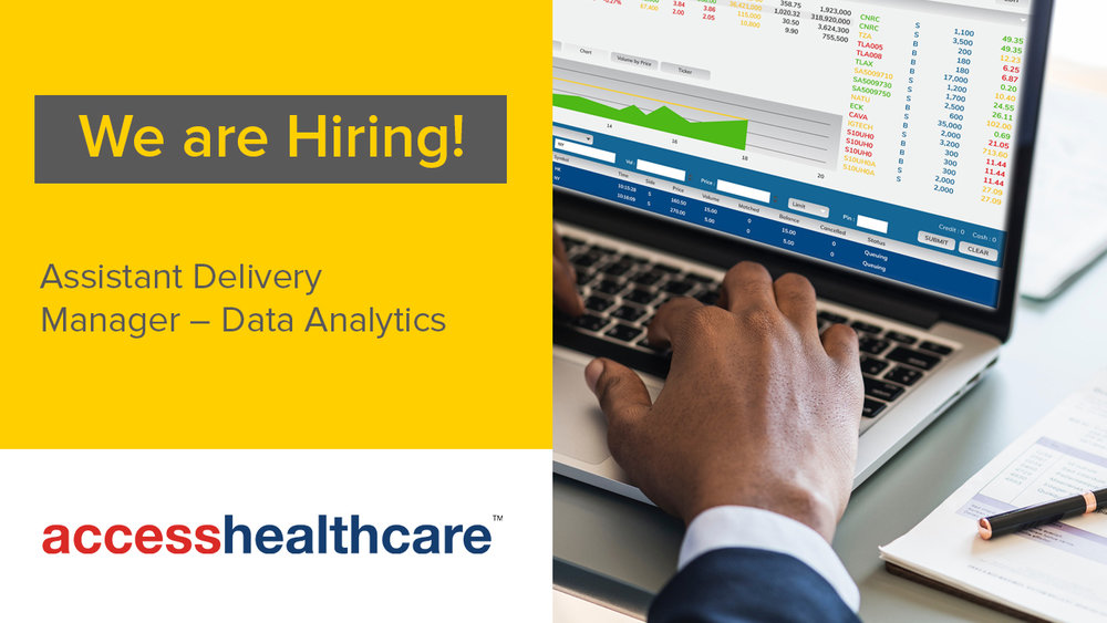 assistant delivery manager data analytics