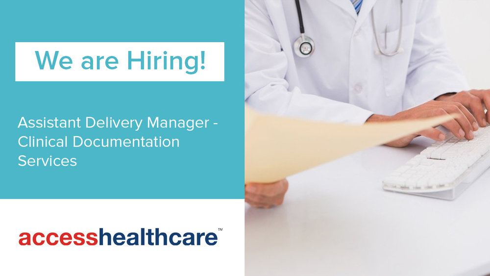 Assistant Delivery Manager - Clinical Documentation Services Pune