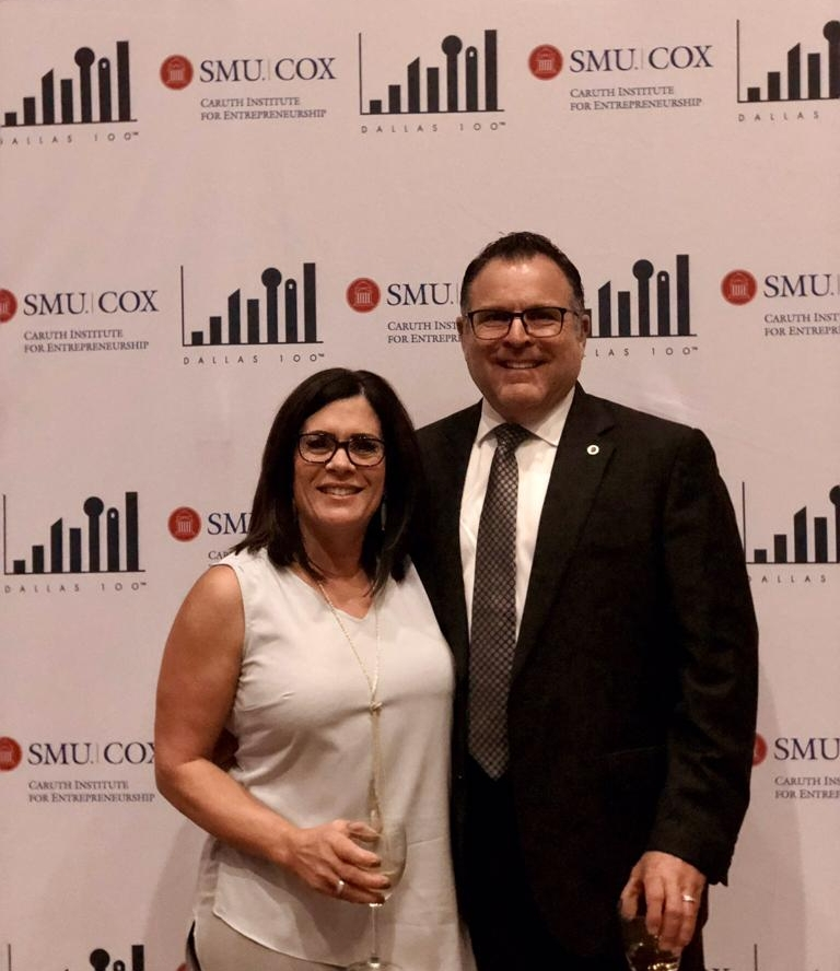 Jim Carlough, Senior Vice President – North America Operations, along with his wife, Lori Ann Carlough received the award on behalf of Access Healthcare