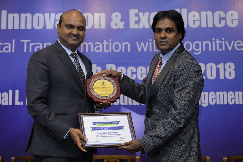 CSI - Technology Enabled Transformation Leader Award