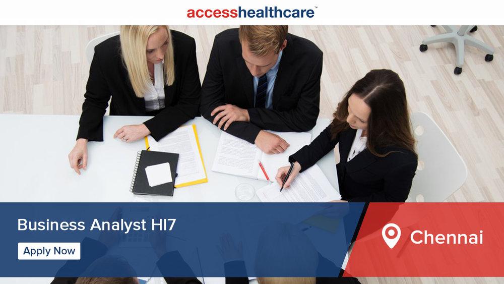 Business-Analyst-Hl7-Technology-Chennai