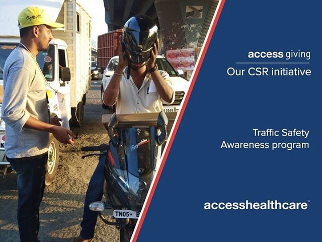 Our CSR wing, accessgiving, joined hands with Chennai based NGO Thozhan Trust, for a Traffic Safety Awareness program at Ambattur traffic signal recently. The response from the public was overwhelming, and greatly inspiring to our young volunteers. Check out some scenes from the event. #AccessHealthcare #RoadSafety #Thozhan #ambattur