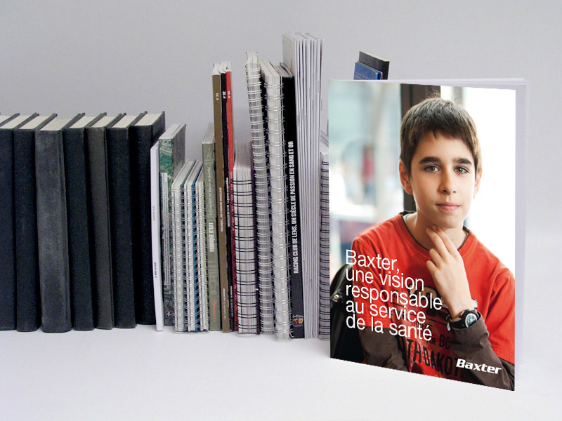 +POINT / Baxter Belgium Corporate Brochure / 2012
