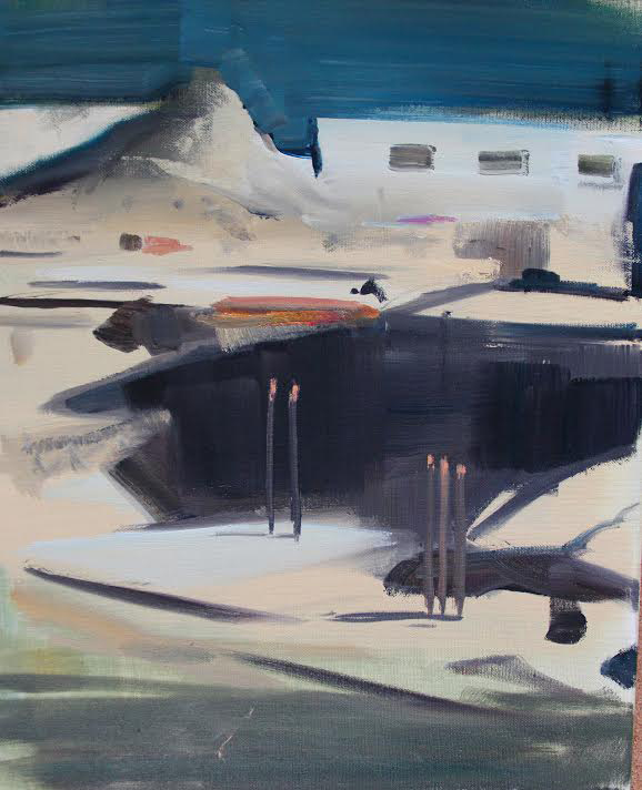 Site 2, 2014, oil on canvas, 12x16, 1500.jpg