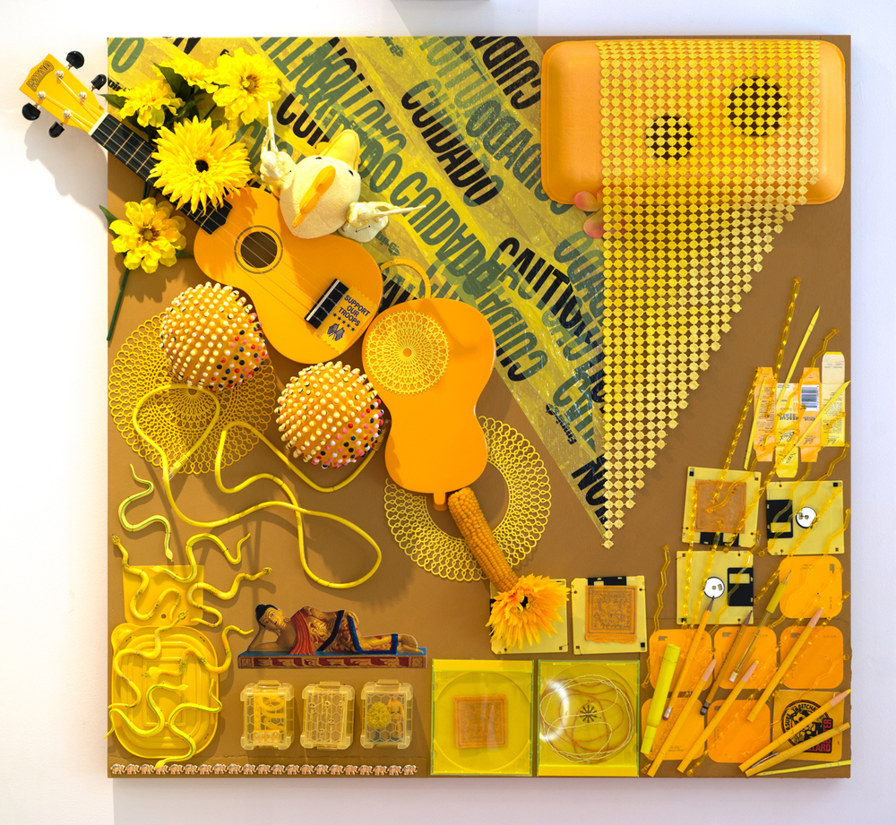 Yellow 3, 36x36, mixed media, 2500.jpeg