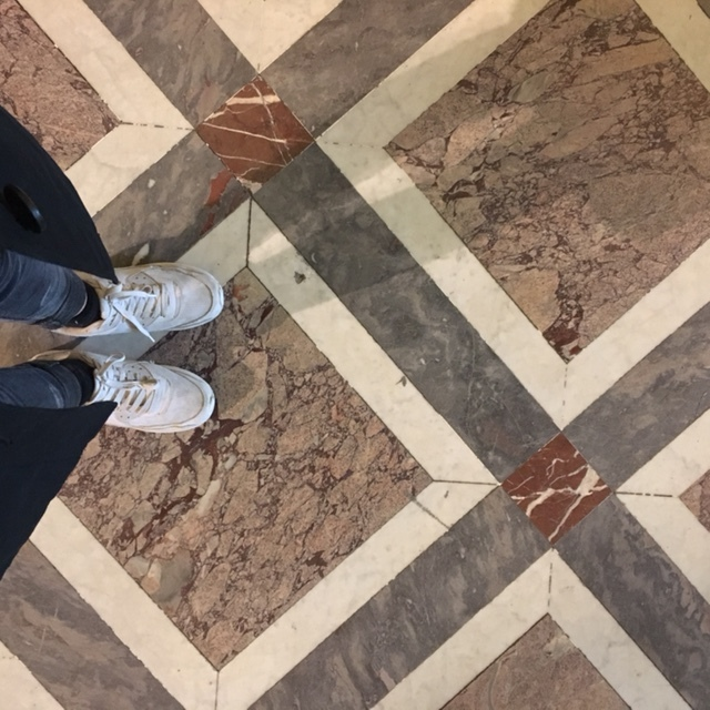 flooring | aged marble designs in Le Louvre