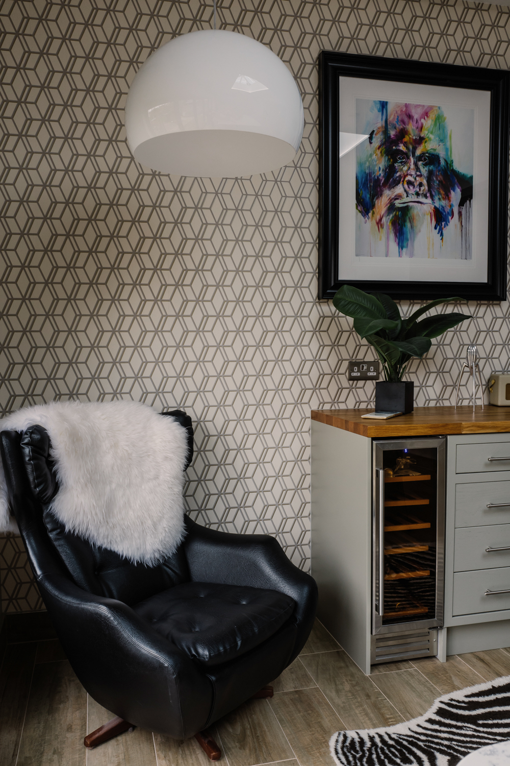 geometric wallpaper project