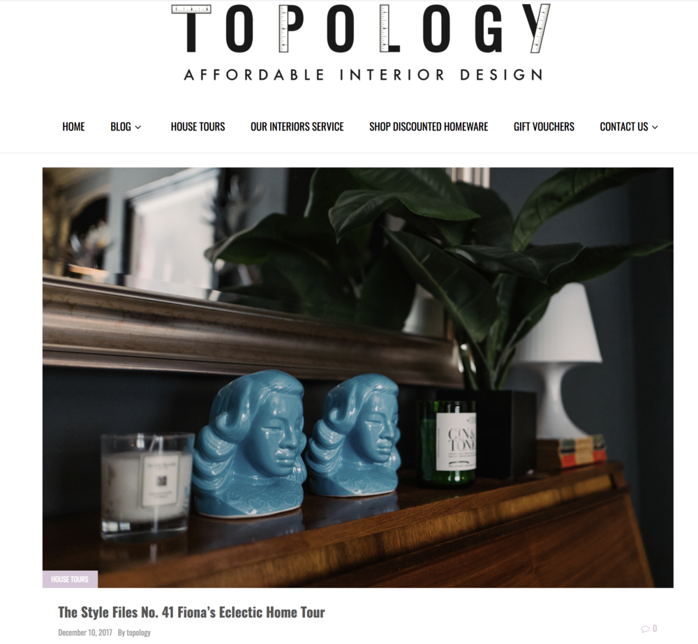 Topology feature with Fiona Duke Interiors