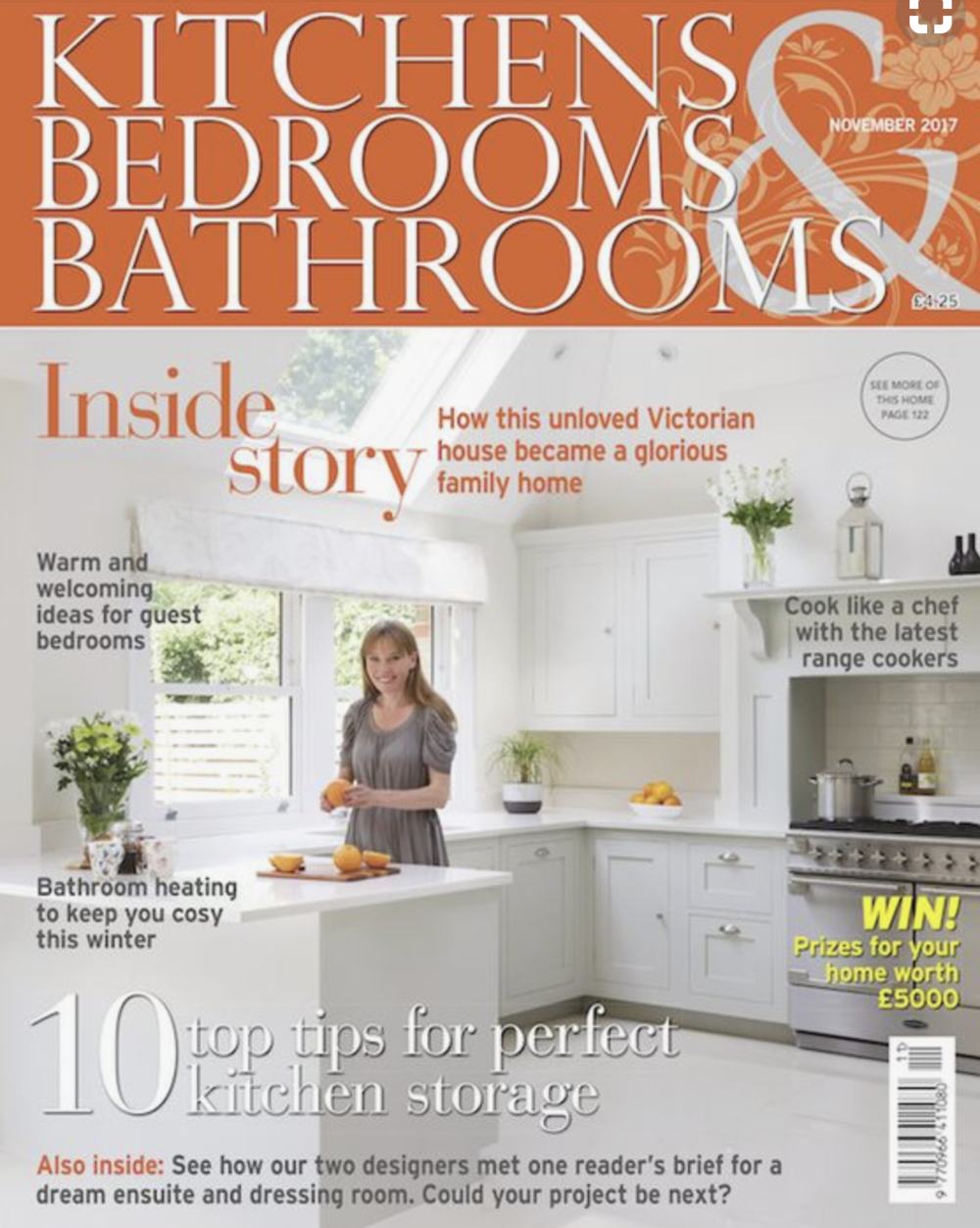 Fiona Duke Interiors features in KBB Magazine