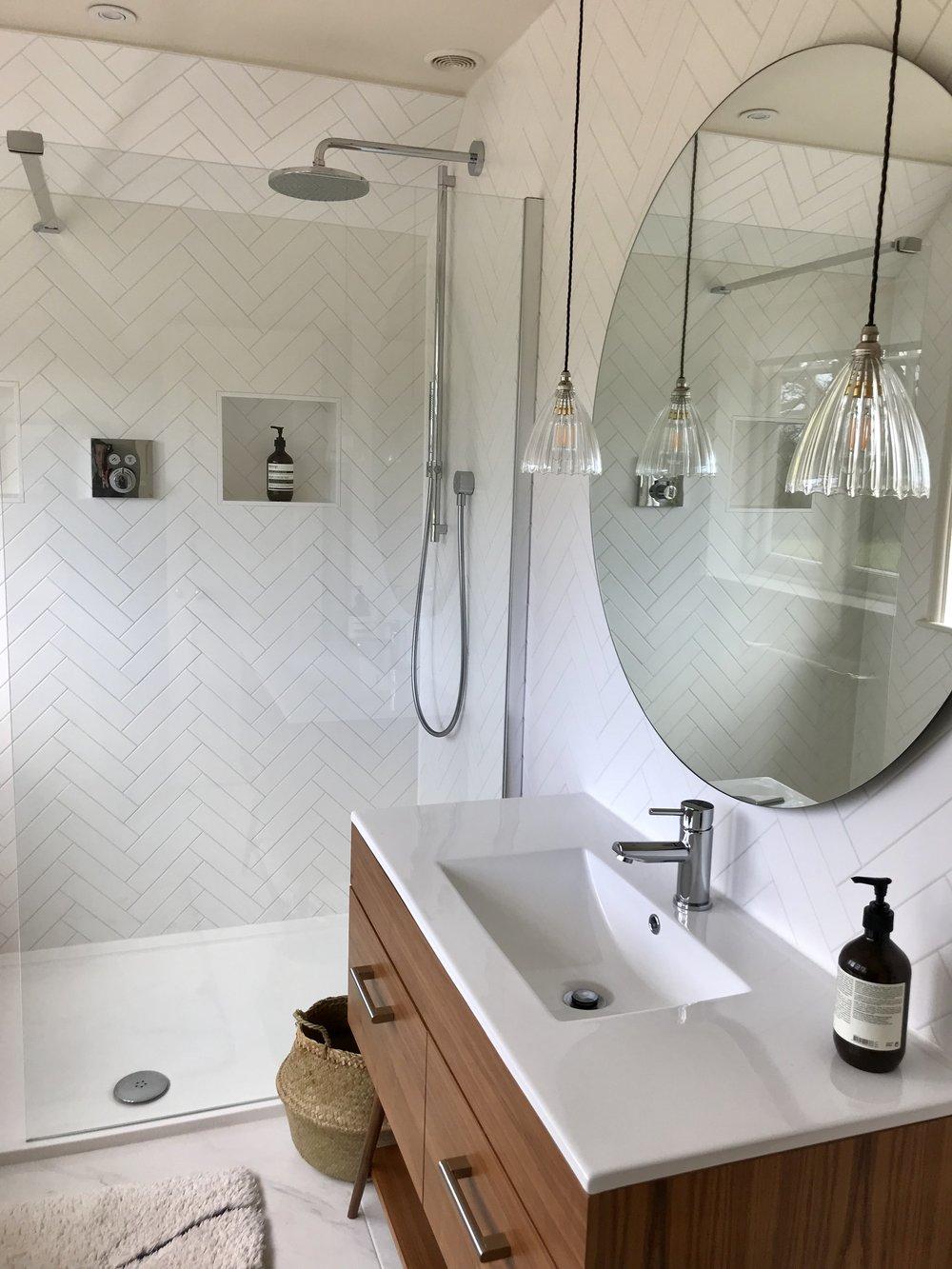 Detached Edwardian - Main bathroom