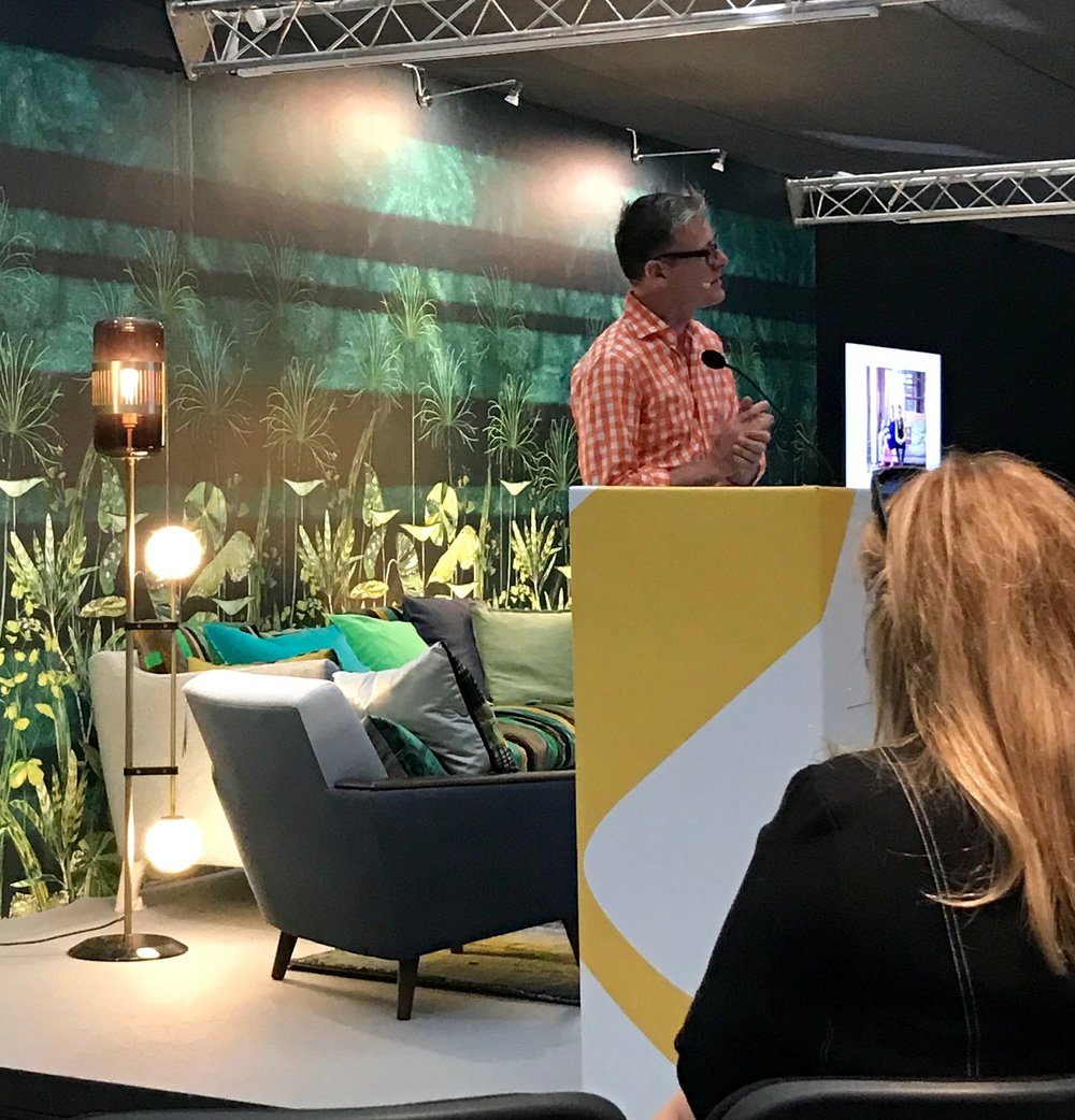 Daniel Hopwood at Decorex International 2018