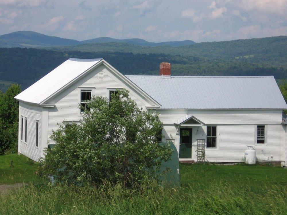 Classic Vermont Farm House - Location: Morey Hill Rd., CraftsburyDistance: 8 milesSleeps 8, 4 BRPrice: $350/nightSite: VRBO