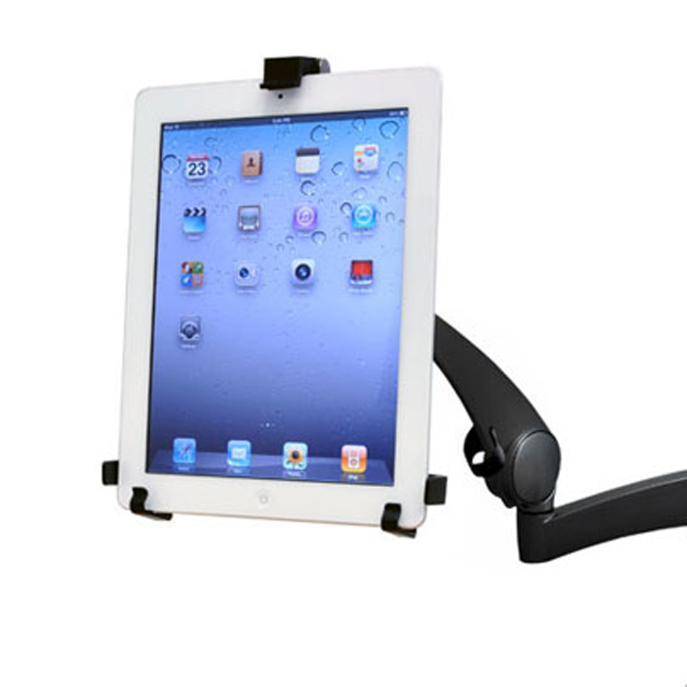 "10"" tablet cradle with iPad"