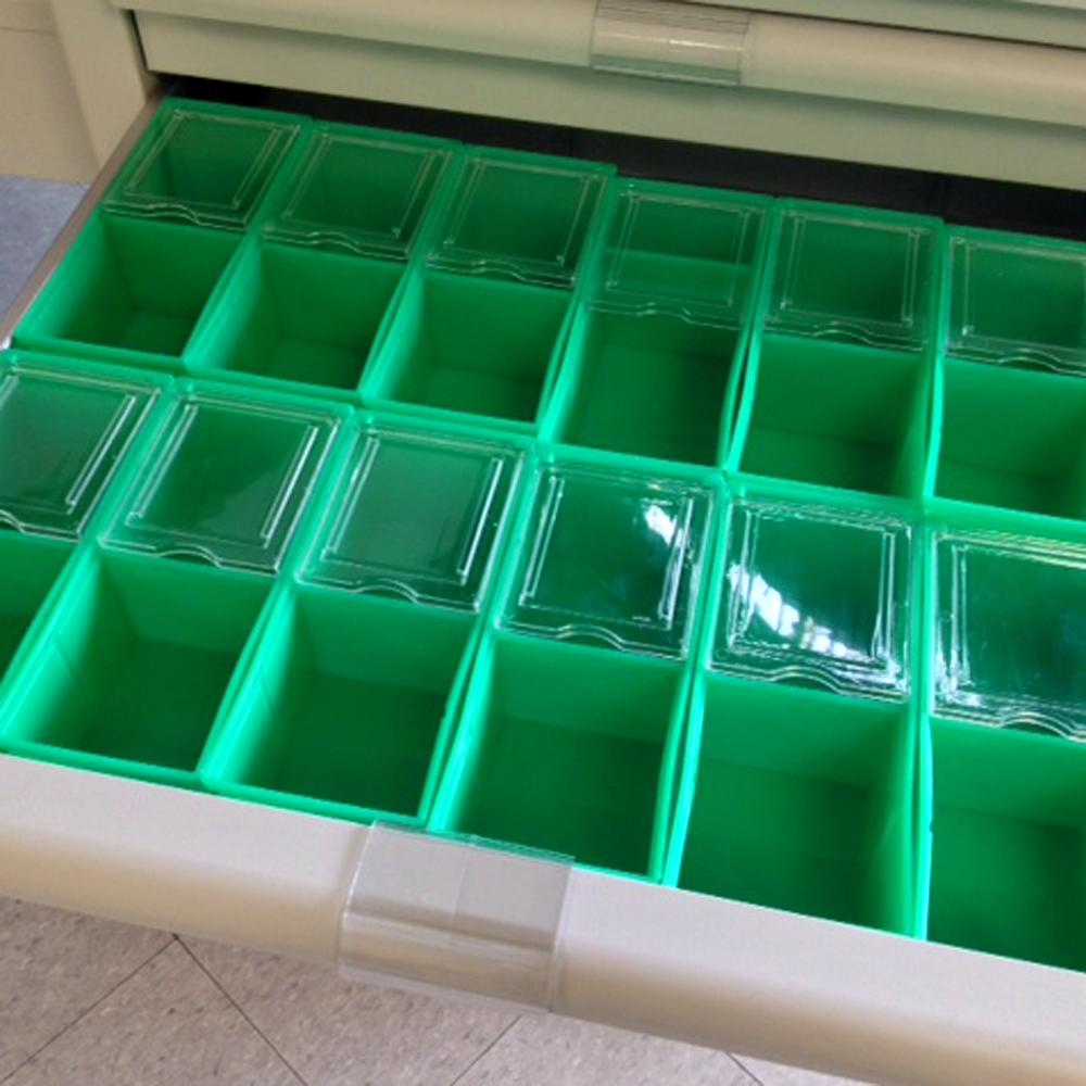 Optional AP bins for strip packaging